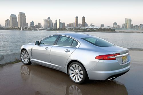 Jaguar XF side