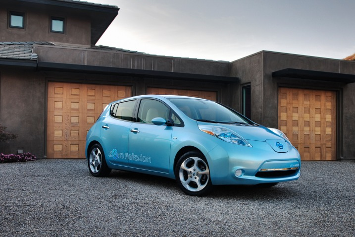 Nissa Leaf Electric Vehicle