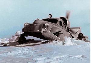 Soviet snowmobile