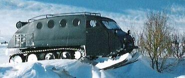 Bombardier snow coach